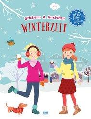 Stickern & Anziehen - Winter