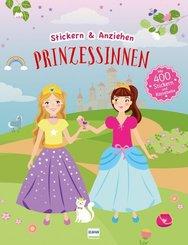 Prinzessinnen, Stickerbuch
