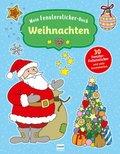 Mein Fenstersticker-Buch - Weihnachten
