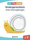 LernSpielZwerge Kindergartenblock - Erste Schwungübungen