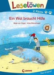 Leselöwen 2. Klasse - Ein Wal braucht Hilfe