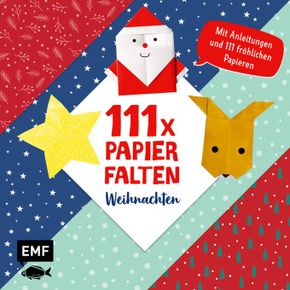 111 x Papierfalten - Weihnachten