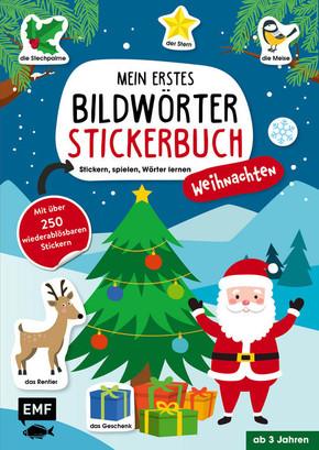 Mein erstes Bildwörter-Stickerbuch - Weihnachten