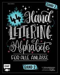 Handlettering 44 Alphabete - Bd.2