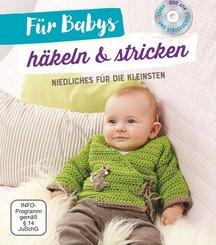 Für Babys häkeln & stricken, m. DVD