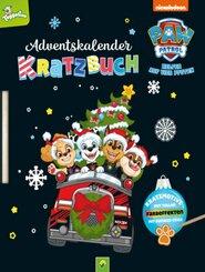 PAW Patrol Adventskalender Kratzbuch