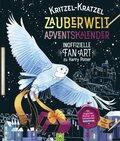 Kritzel-Kratzel Zauberwelt Adventskalender - Inoffizielle Fan-Art zu Harry Potter