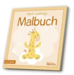 Mein Lieblings- Malbuch - Tiere