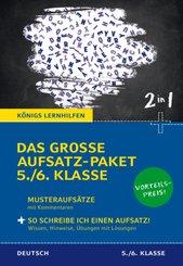 Das große Aufsatz-Paket 5./6. Klasse