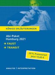 Abi-Paket Hamburg 2021 - Königs Erläuterungen, 2 Bde.