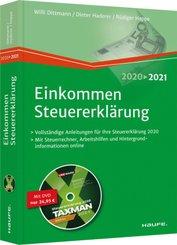 Einkommensteuererklärung 2020/2021 - inkl. DVD; Alle Bände
