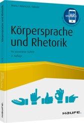 Körpersprache und Rhetorik; Volume 1