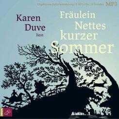 Fräulein Nettes kurzer Sommer, 2 Audio-CD, 2 MP3