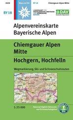 Chiemgauer Alpen, Mitte - Hochgern, Hochfelln