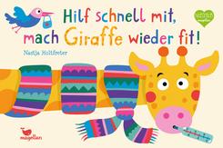 Hilf schnell mit, mach Giraffe wieder fit!