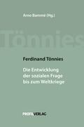 Ferdinand Tönnies - Die Entwicklung der sozialen Frage bis zum Weltkriege