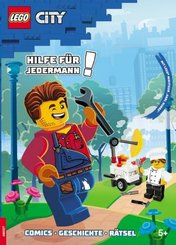 LEGO City - Hilfe für Jedermann!, m. Lego Minifigur 'Harl Hubbs'