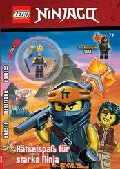 LEGO Ninjago - Rätselspaß für starke Ninja, m. Minifigur Cole