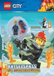 LEGO City - Rätselspaß für Feuerwehrmänner, m. Minifigur