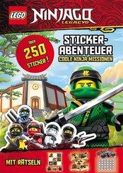 LEGO Ninjago - Stickerabenteuer. Coole Ninja-Missionen