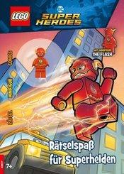 LEGO DC Superheroes - Rätselspaß für Superhelden, m. Minifigur The Flash