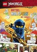 LEGO Ninjago - Rätselmalspaß mit Comics