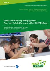Professionalisierung pädagogischer Fach- und Lehrkräfte in der frühen MINT-Bildung