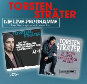 Die Live-Programme, 3 Audio-CD