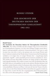 Zur Geschichte der Deutschen Sektion der Theosophischen Gesellschaft 1902-1913
