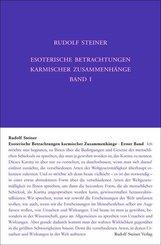 Esoterische Betrachtungen karmischer Zusammenhänge - Bd.1