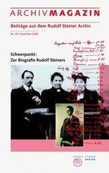 ARCHIVMAGAZIN. Beiträge aus dem Rudolf Steiner Archiv - Nr.10