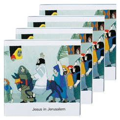Jesus in Jerusalem (4 Expl.)