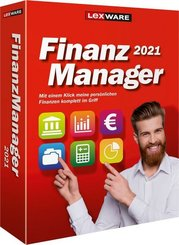 Lexware FinanzManager 2021, CD-ROM