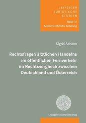 Rechtsfragen ärztlichen Handelns im öffentlichen Fernverkehr im Rechtsvergleich zwischen Deutschland und Österreich