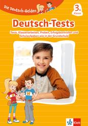 Klett Die Deutsch-Helden: Deutsch-Tests 3. Klasse