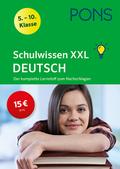 PONS Schulwissen XXL Deutsch 5.-10. Klasse