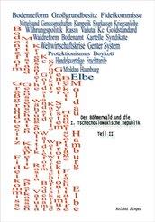 Der Böhmerwald und die I. Tschechoslowakische Republik, Teil II