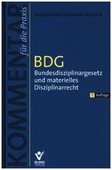 BDG - Bundesdisziplinargesetz und materielles Disziplinarrecht