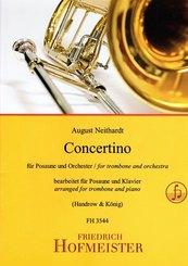 Concertino für Posaune und Orchester / KlA