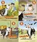 Lieselotte Minis Die Bücher zur TV-Serie, 4 Bde.