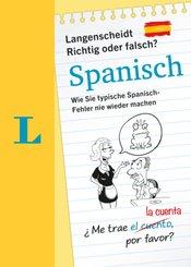 Langenscheidt Richtig oder Falsch? Spanisch