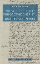 Friedrich Schillers philosophischer Stil