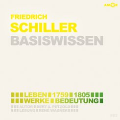 Friedrich Schiller - Basiswissen (2 CDs), Audio-CD
