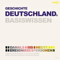 Geschichte Deutschlands - Basiswissen (2 CDs), Audio-CD