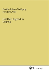 Goethe's Jugend in Leipzig