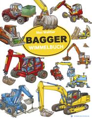 Bagger Wimmelbuch