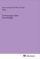 Vorlesungen über Psychologie