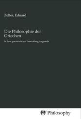Die Philosophie der Griechen