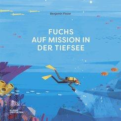 Fuchs auf Mission in der Tiefsee