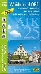 Amtliche Topographische Karte Bayern Weiden i. d. OPf.